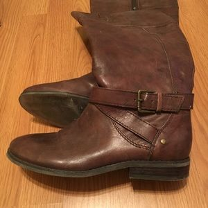 Marc Fisher riding boots from Macy's